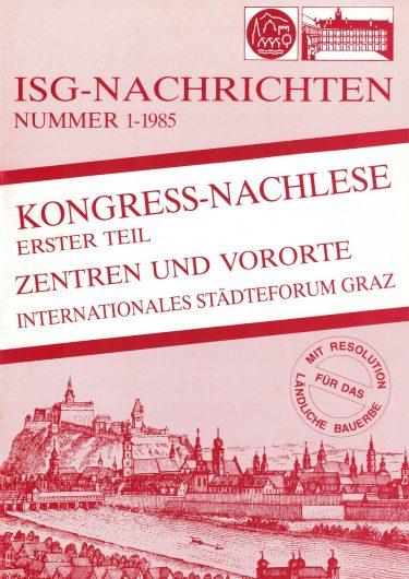 1985 Cover Magazin 1