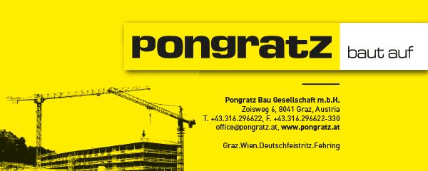 Logo Pongratz - bau auf