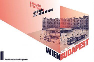 Ringturm Ausstellung Wien Budapest Plakat