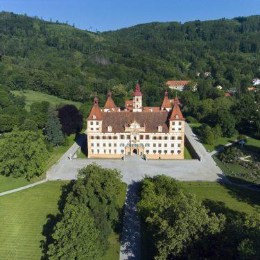 Schloss Eggenberg_Luftbild